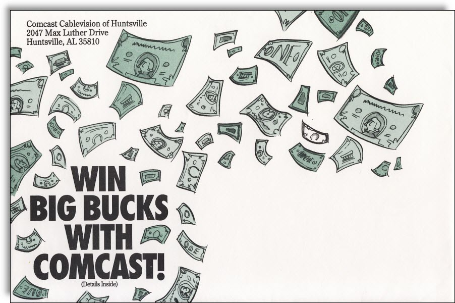 comcast-cable-sweepstakes-envelope