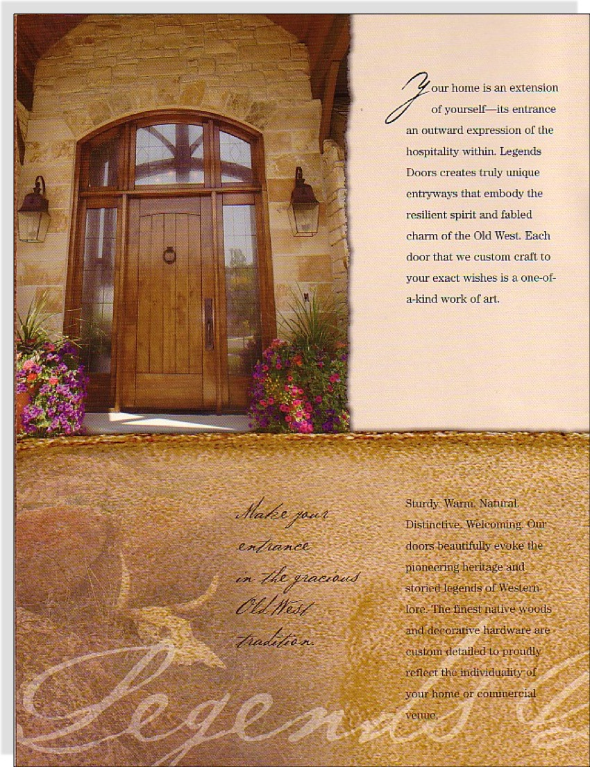 Legends Doors Brochure 2