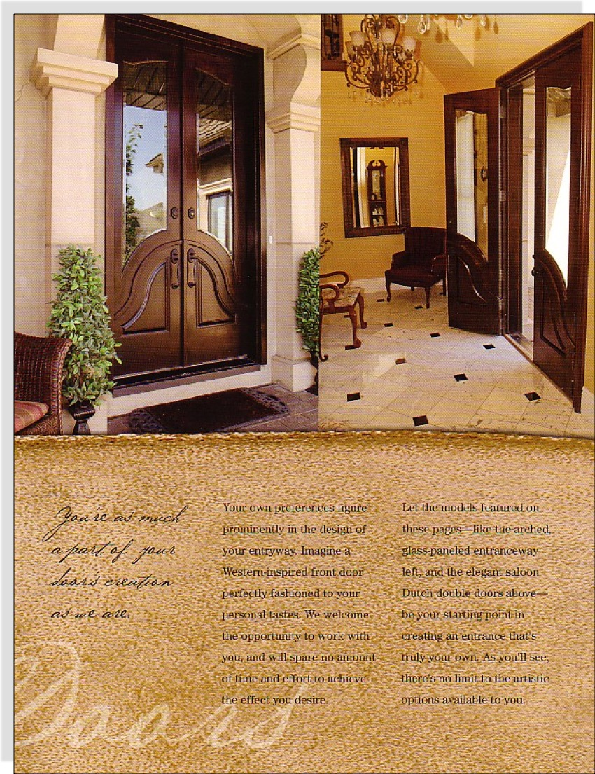 Legends Doors Brochure 3