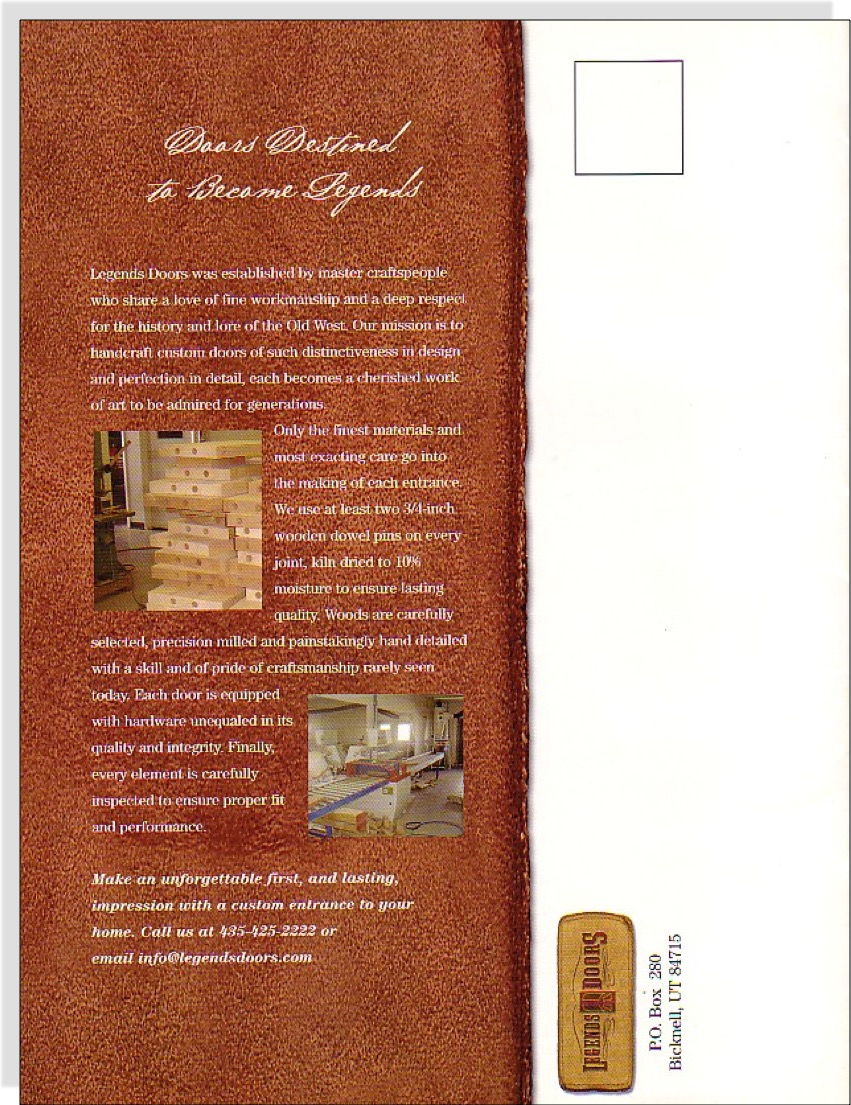 Legends Doors Brochure 6