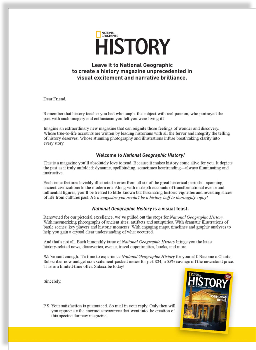 nat-geo-history-sales-letter