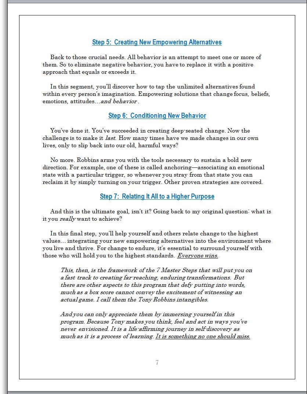 tony robbins unshakeable pdf free